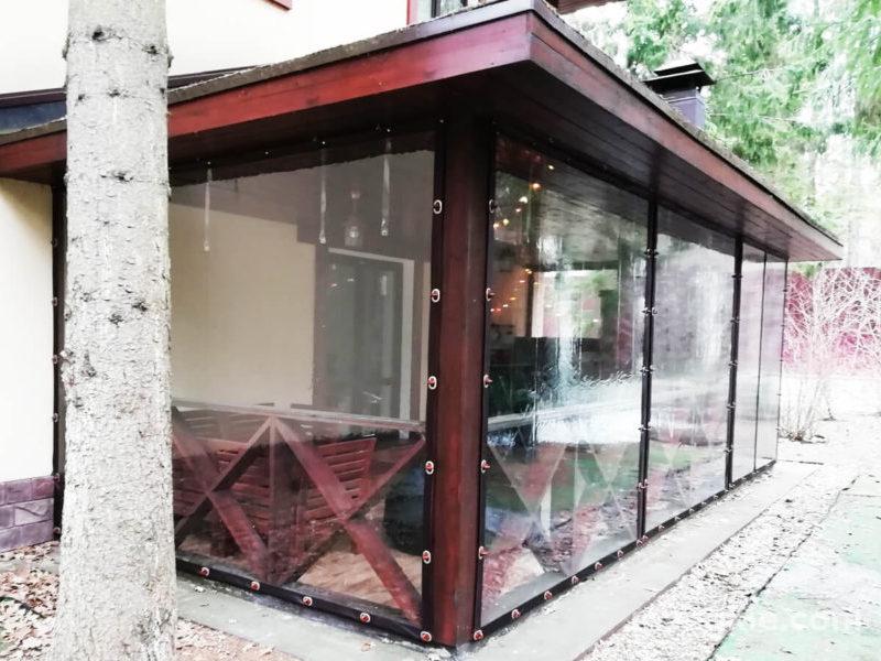 Мягкие окна для террасы в Дмитровском районе