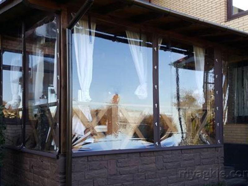 Мягкие окна для террасы в Подольском районе