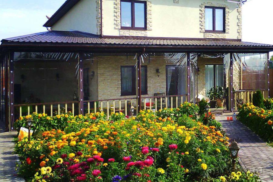 Мягкие окна для террасы в Видном