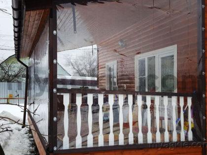 Мягкие окна для террасы в Раменском