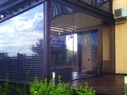 Мягкие окна для террасы в Клину