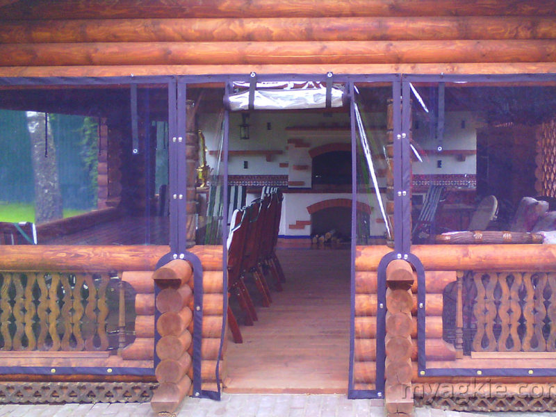 Мягкие окна для террасы в Обнинске