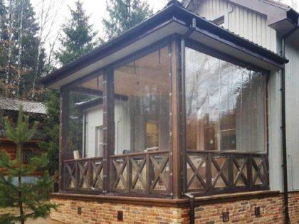 Мягкие окна для веранды в Истре