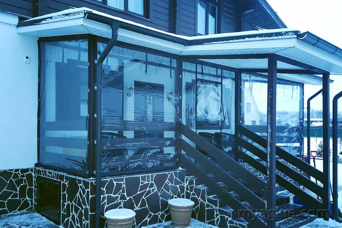 Мягкие окна для веранд в ступино