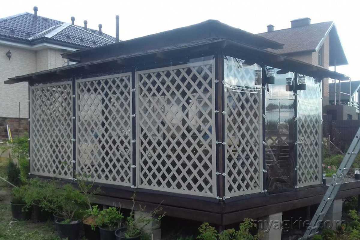 купить Мягкие окна для беседки в Дмитровском районе МО
