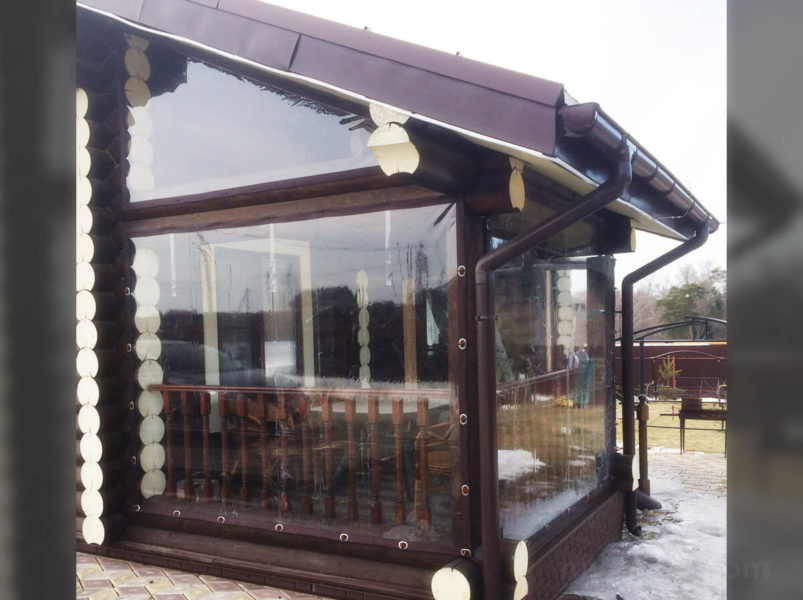 купить Мягкие окна ПВХ для веранд