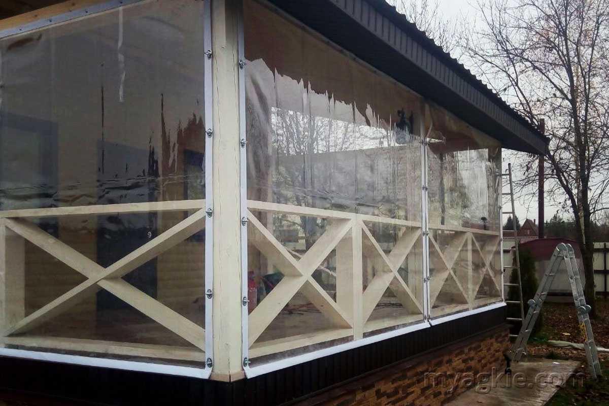 купить Мягкие окна для терассы в Сергиевом Пасаде