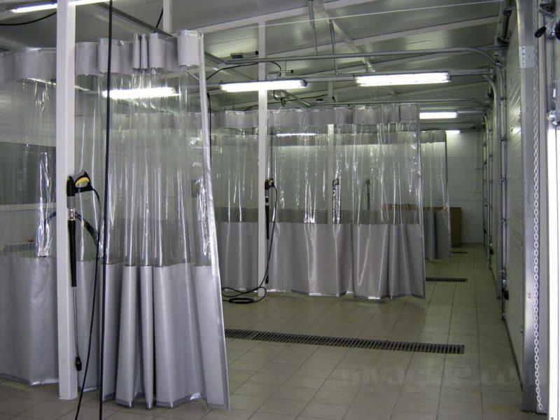 Шторы ПВХ для промыленного помещения