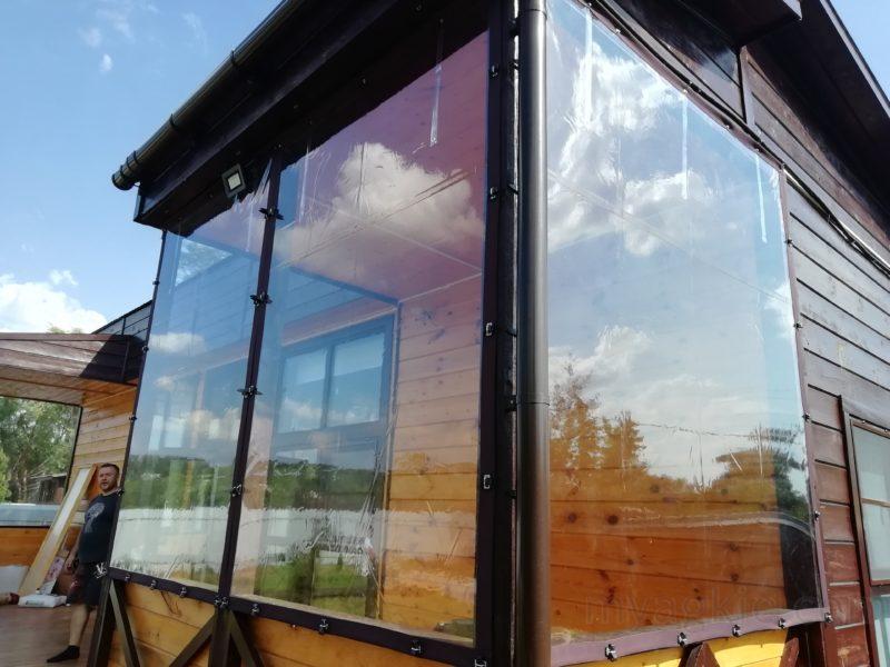 купить Мягкие окна для двухсекционной веранды