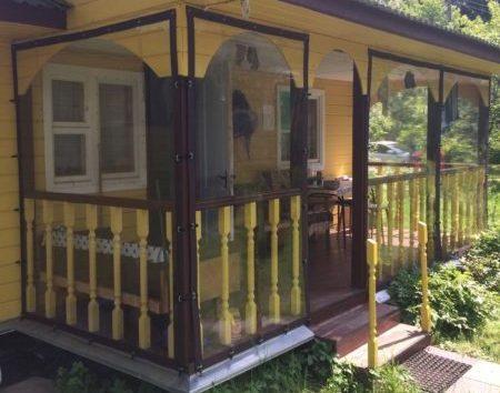 Мягкие окна для деревянной веранды в Раменском районе